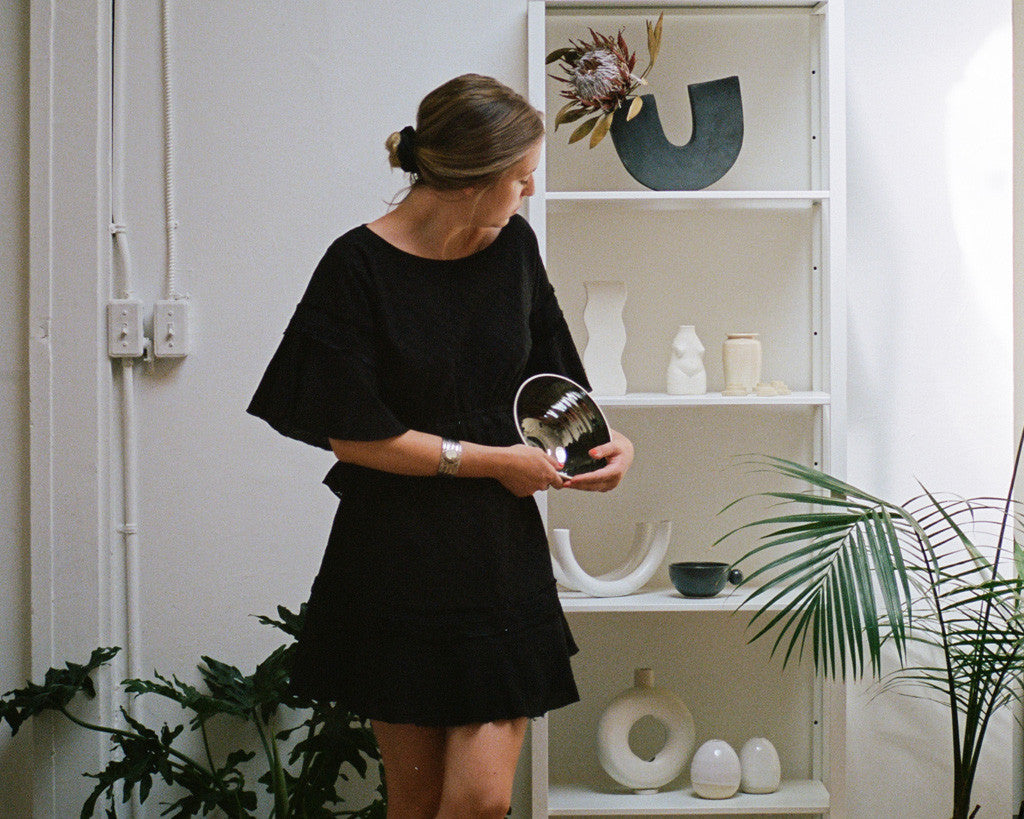 Rachel Saunders Ceramics talks to Stevie May Collective