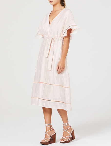 SUNDAY MORNING MIDI DRESS
