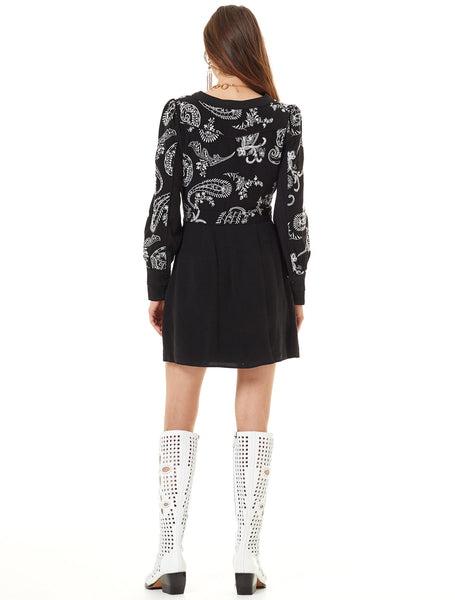 HOLLAND PARK L/S MINI DRESS
