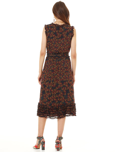 MONARCH MIDI DRESS