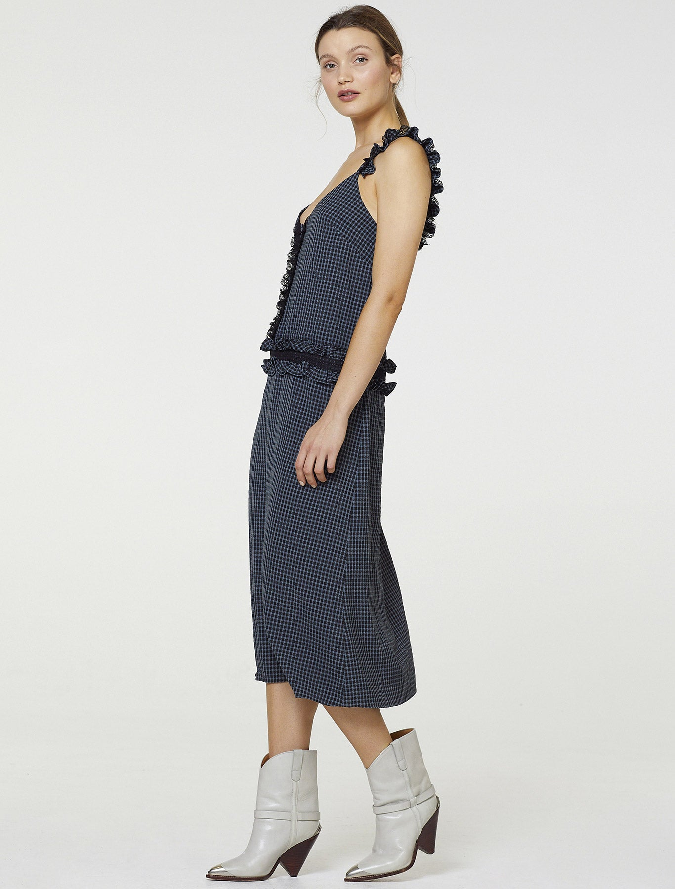 THE TWIST MIDI DRESS