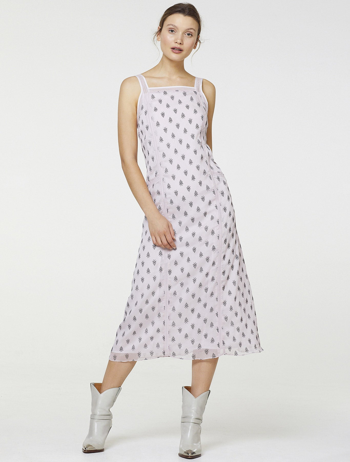 ON HOLD MIDI DRESS