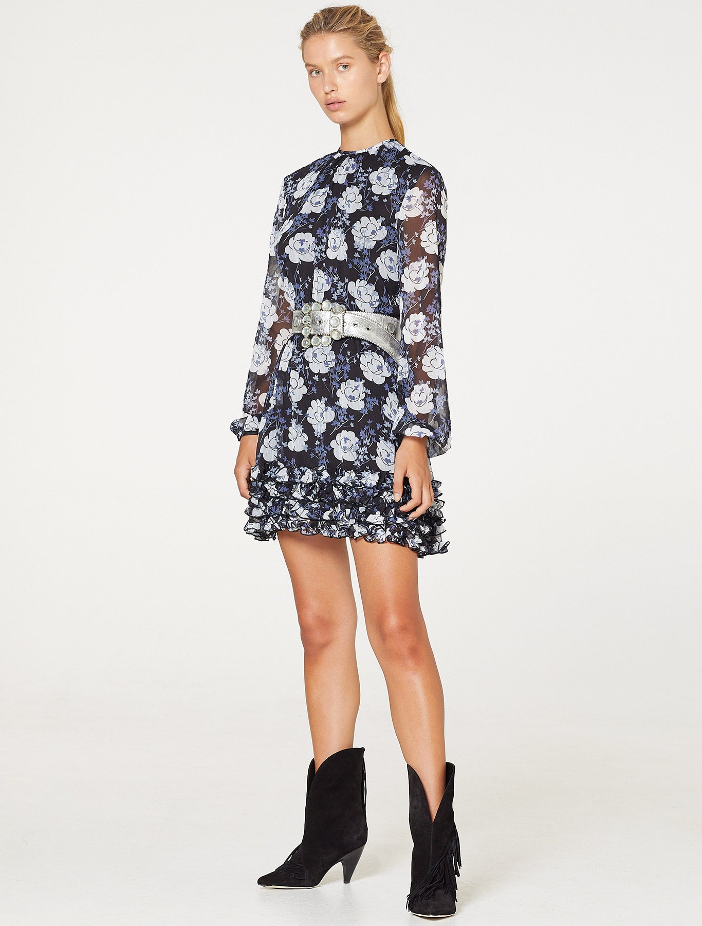 NIGHT TRAIN MINI DRESS