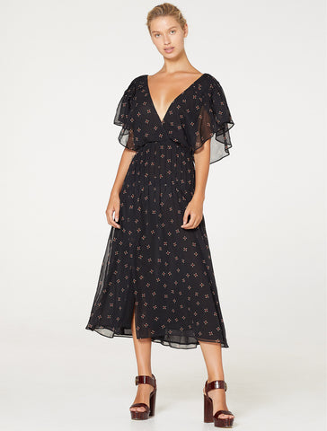 CAMBRIDGE MIDI DRESS