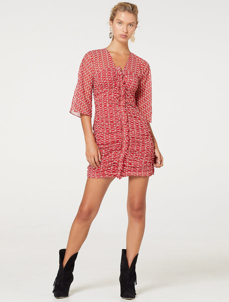 SUNNY AFTERNOON MINI DRESS