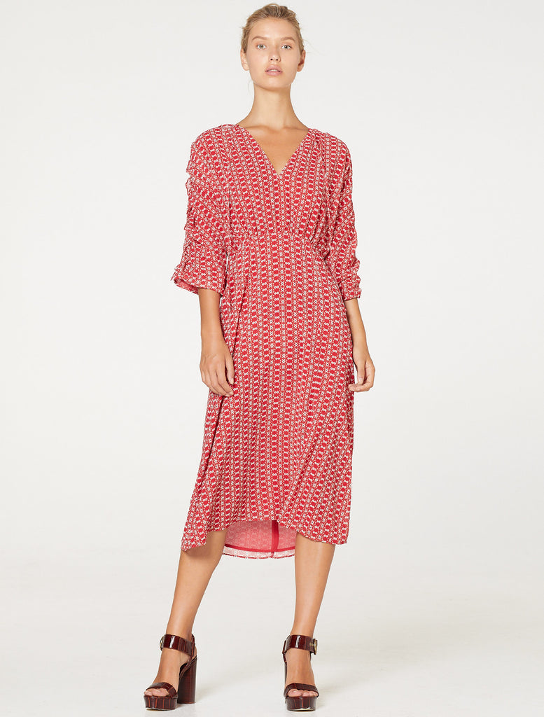 SUNNY AFTERNOON MIDI DRESS