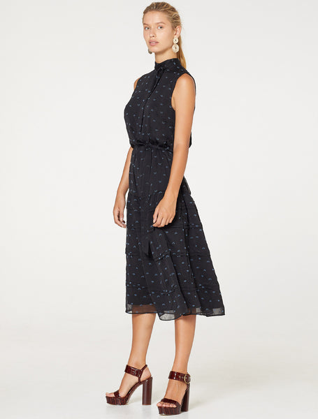 BLACKBIRD MIDI DRESS