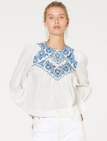 BLUE MUSE TOP