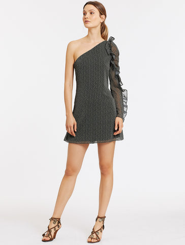 SPECKLE MINI DRESS