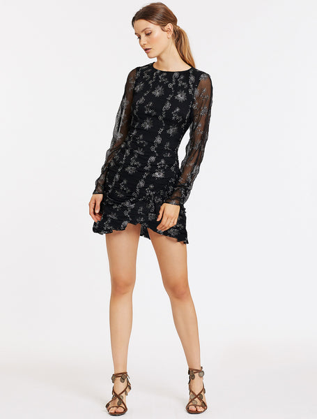 DEVONTE L/S MINI DRESS
