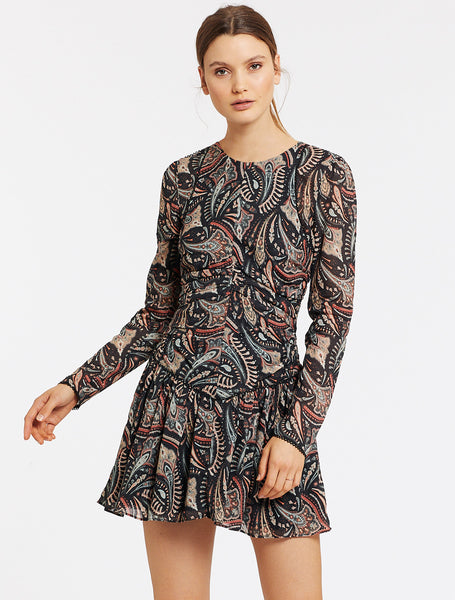CANNES L/S MINI DRESS