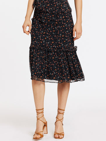 HARRIET MIDI SKIRT
