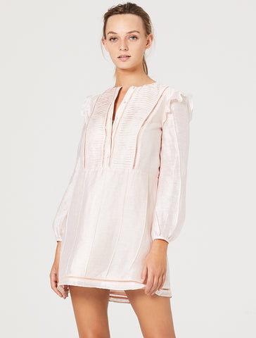 SUNDAY MORNING L/S MINI DRESS