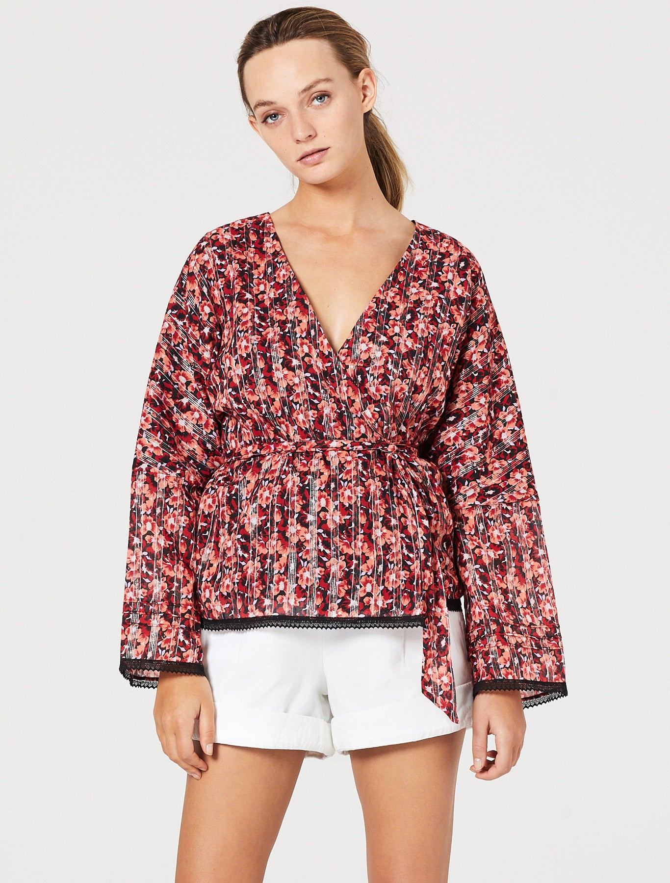WITHOUT A BLUSH L/S TOP