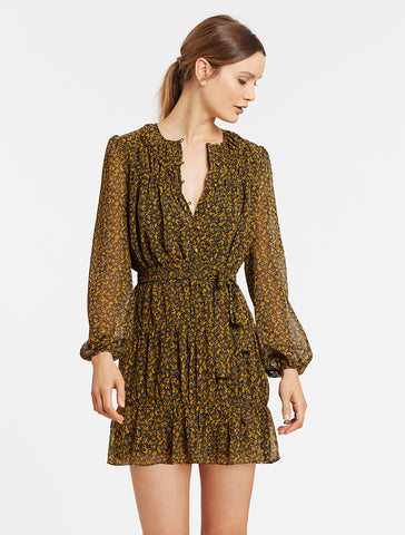 SAIGE MINI L/S DRESS