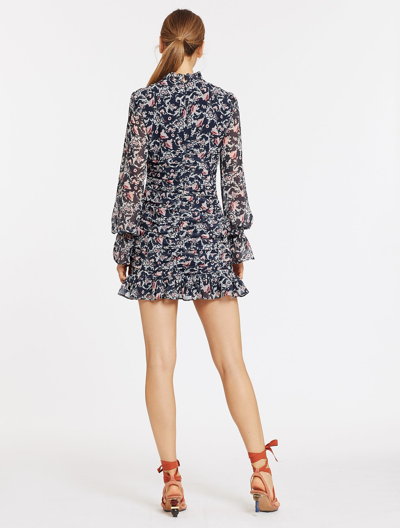 SADELLE L/S MINI DRESS