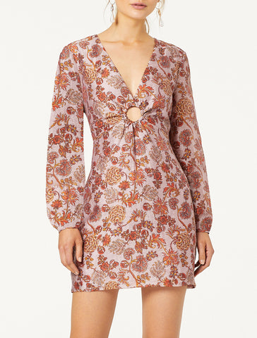PERFECT PLACES L/S MINI DRESS