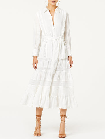 SOFTLY MIDI DRESS