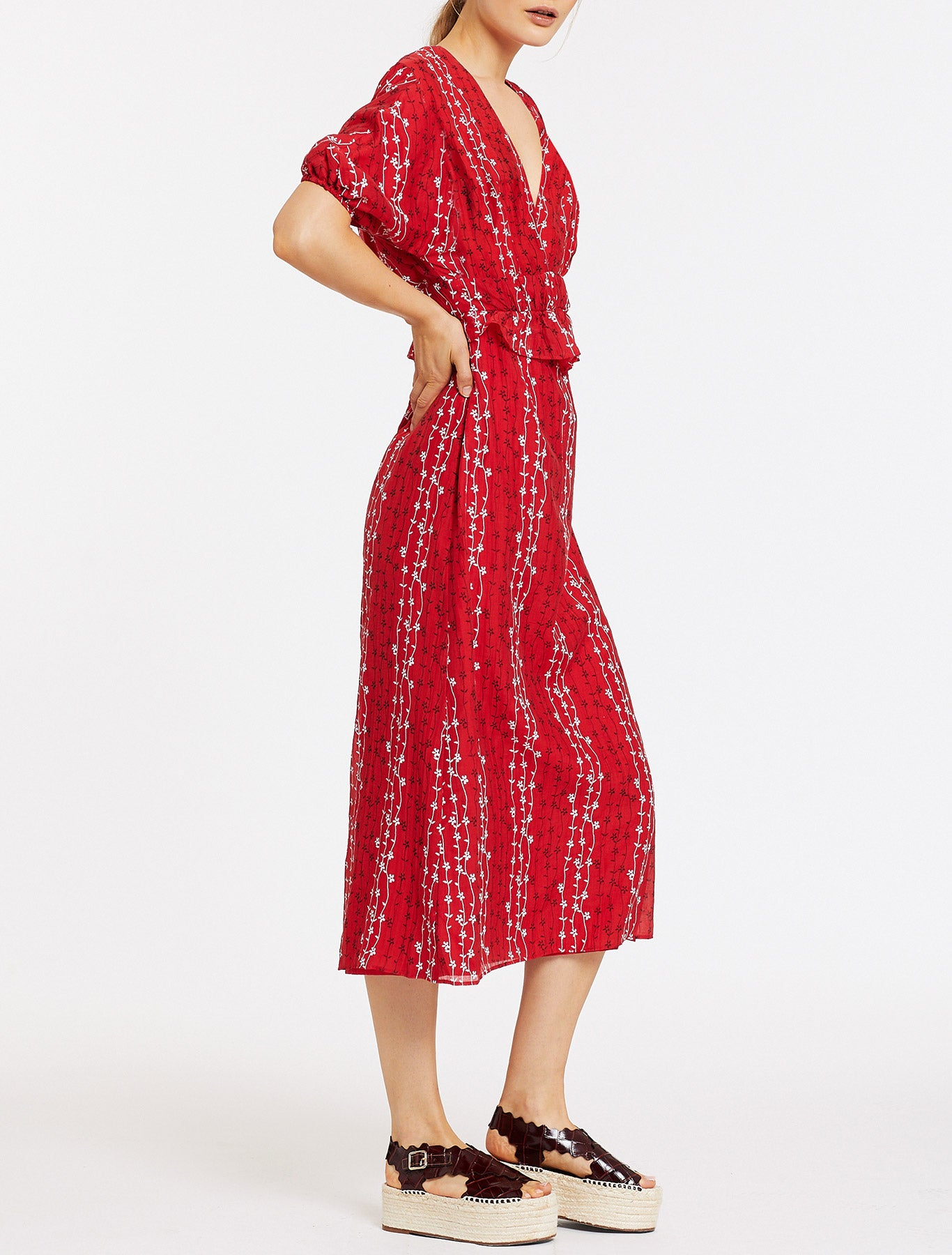 GRACIE MIDI DRESS