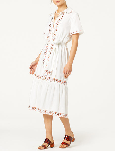 AFTERNOON DELIGHT MIDI DRESS