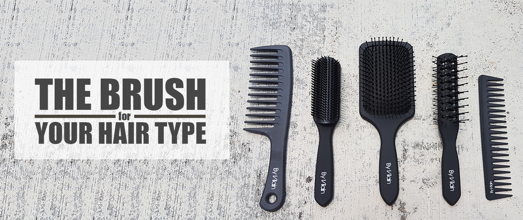 Perfect brush for your hair type