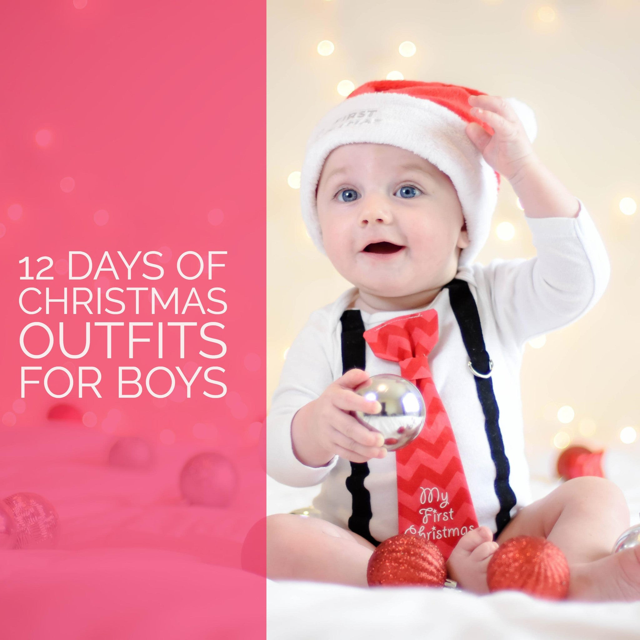 12 Days of Christmas Outfits for Boys