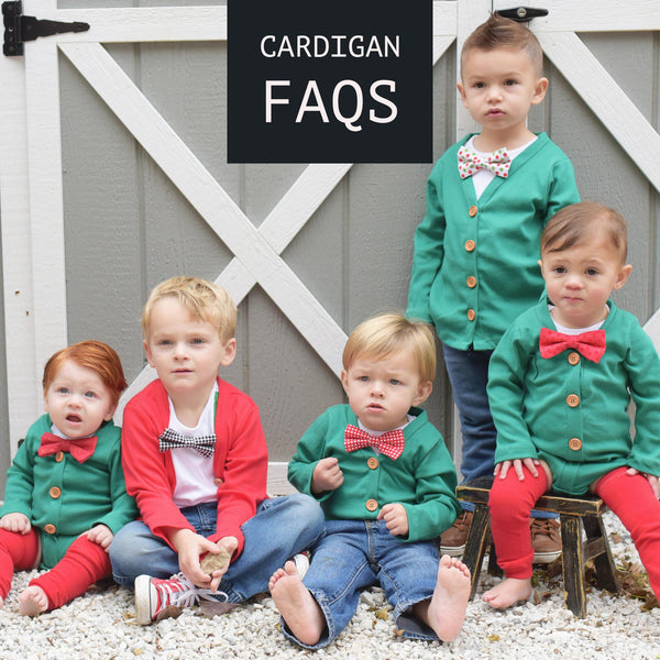 FAQs: All About CSD Cardigans
