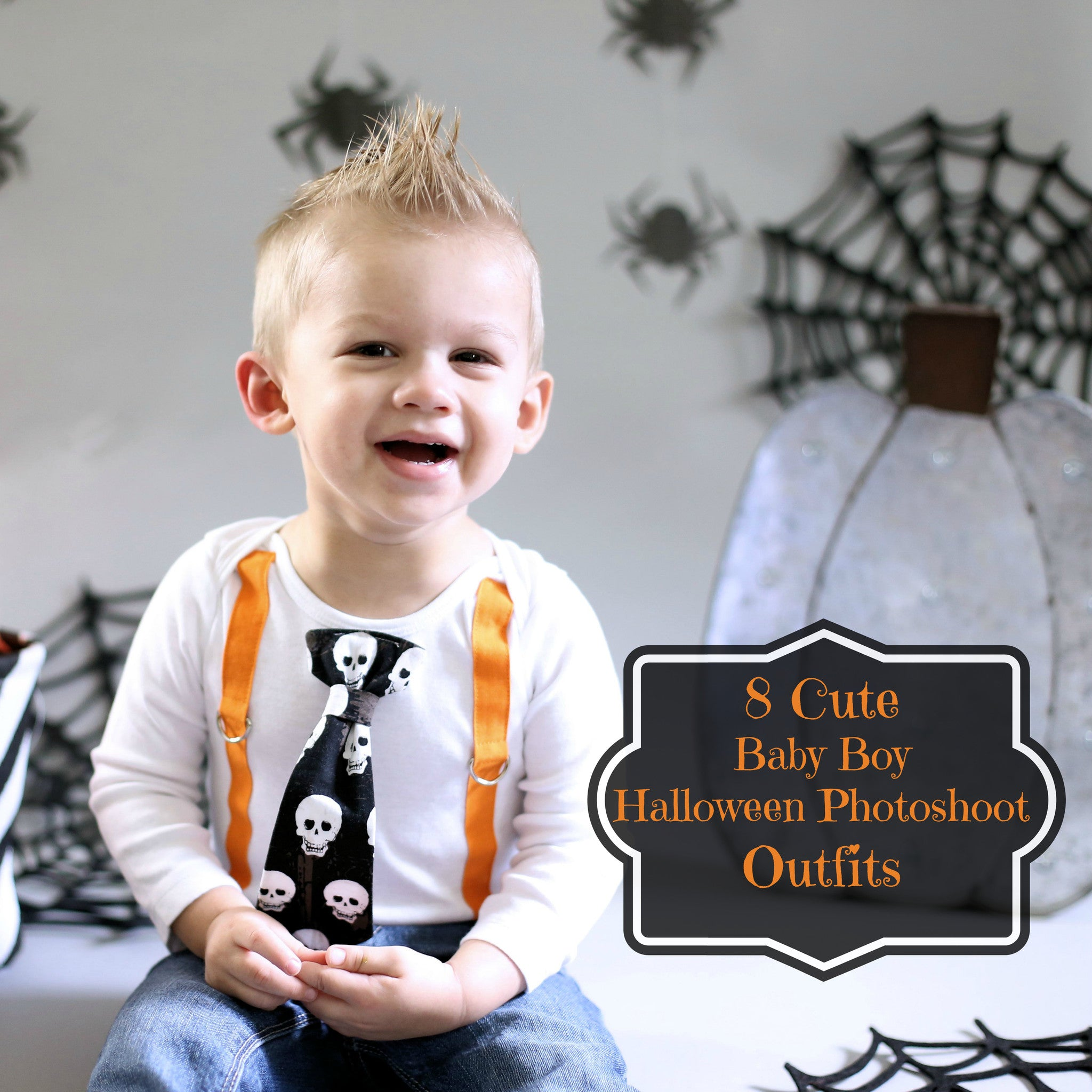 8 ridiculously cute baby boy halloween photoshoot outfit ideas