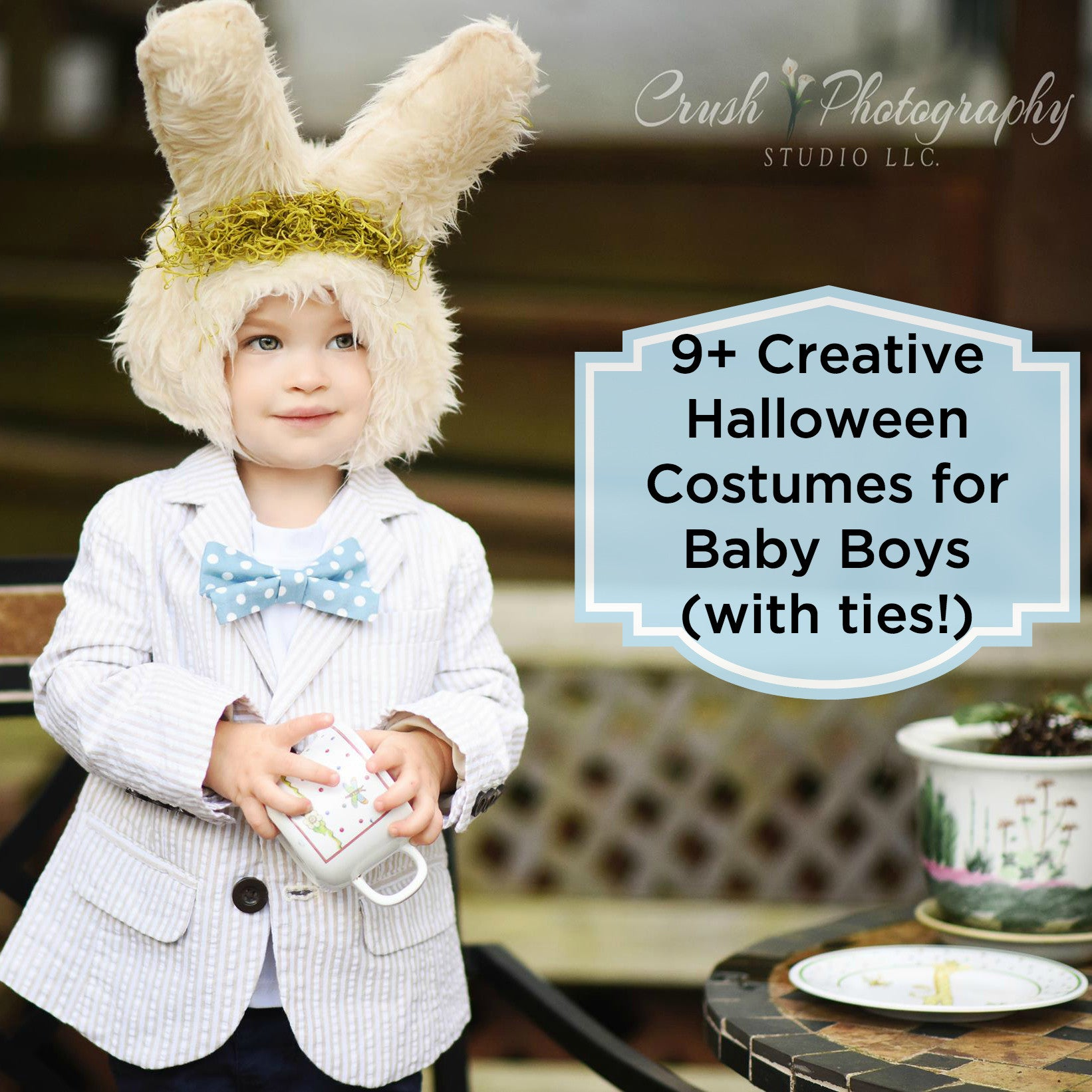 9+ Creative Halloween Costumes for Boys (with ties!)