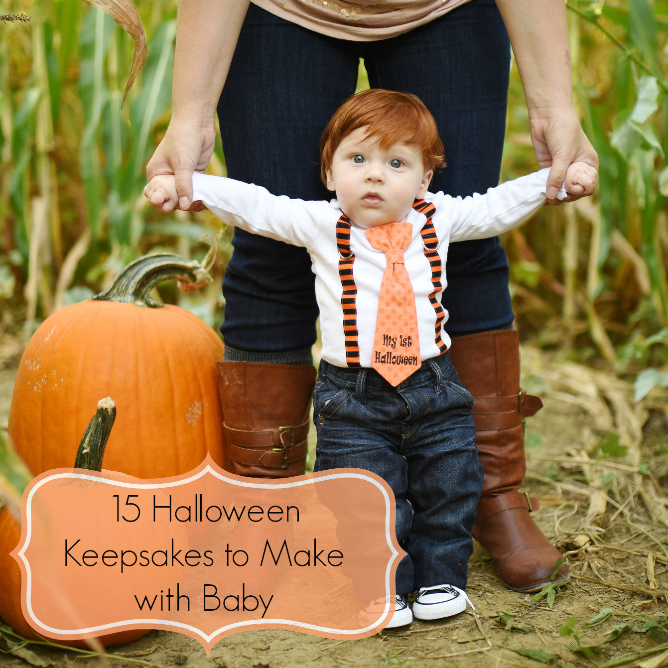 15 Halloween Handprint/Footprint Keepsakes to Make with Baby