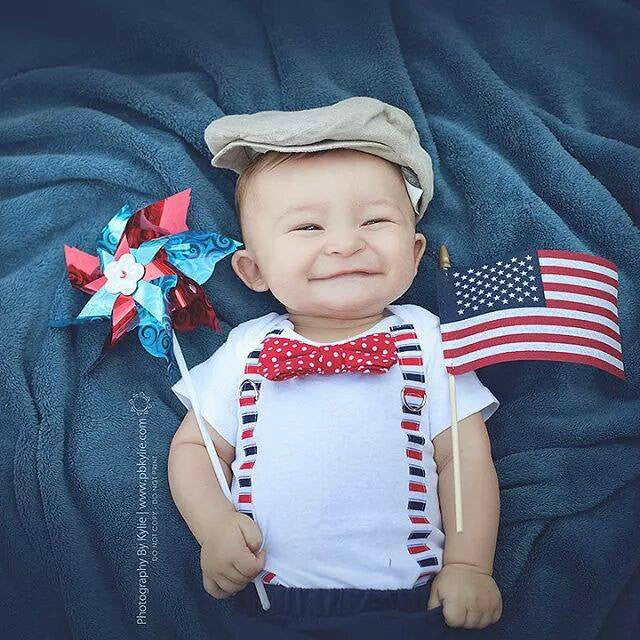 10 Ridiculously Cute Baby Boy 4th Of July Outfits And