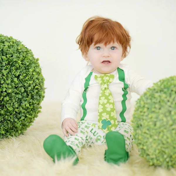 St. Patrick's Day Photoshoot Ideas for Boys