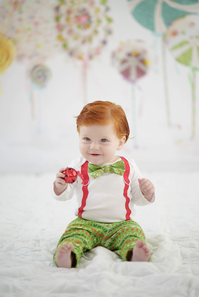 Newborn boy 1st christmas clothes