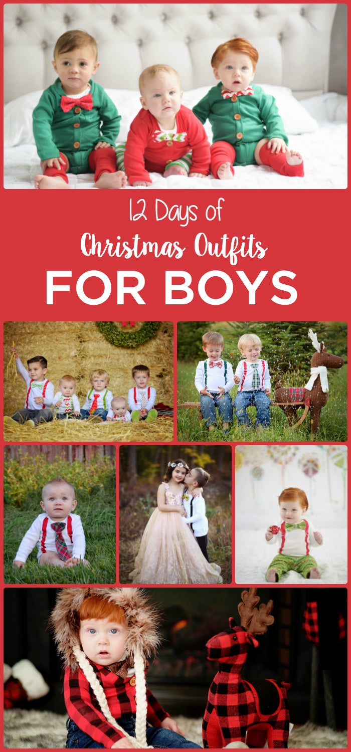 christmas outfits for baby boys