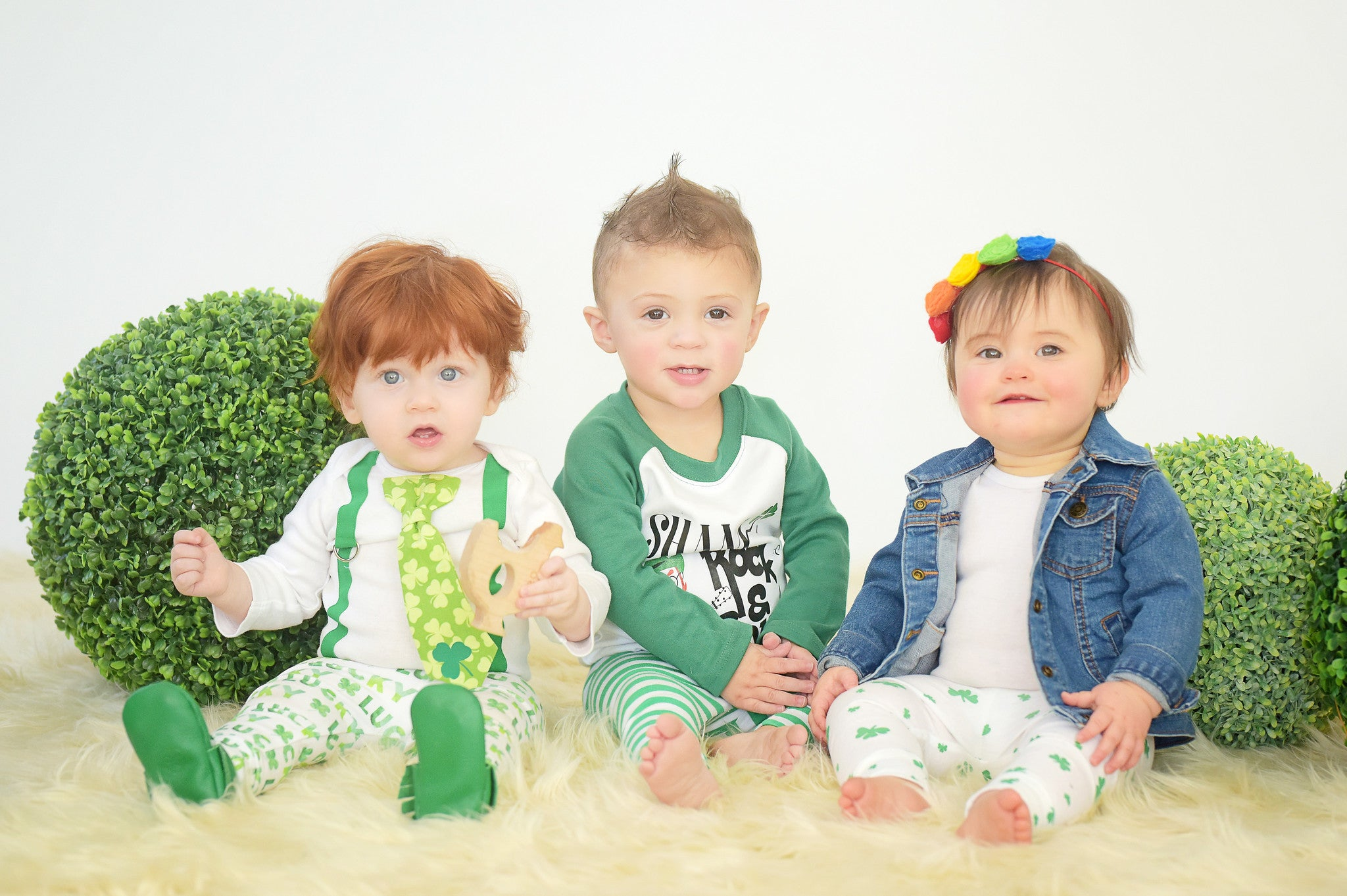 St Patricks Day Photoshoot Ideas For Boys