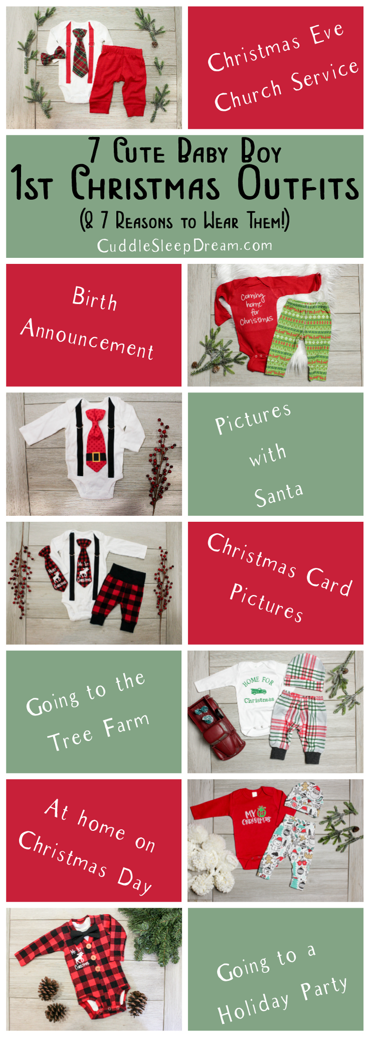 7 Baby Boys First Christmas Outfits 7 Places To Wear Them Cuddle Sleep Dream