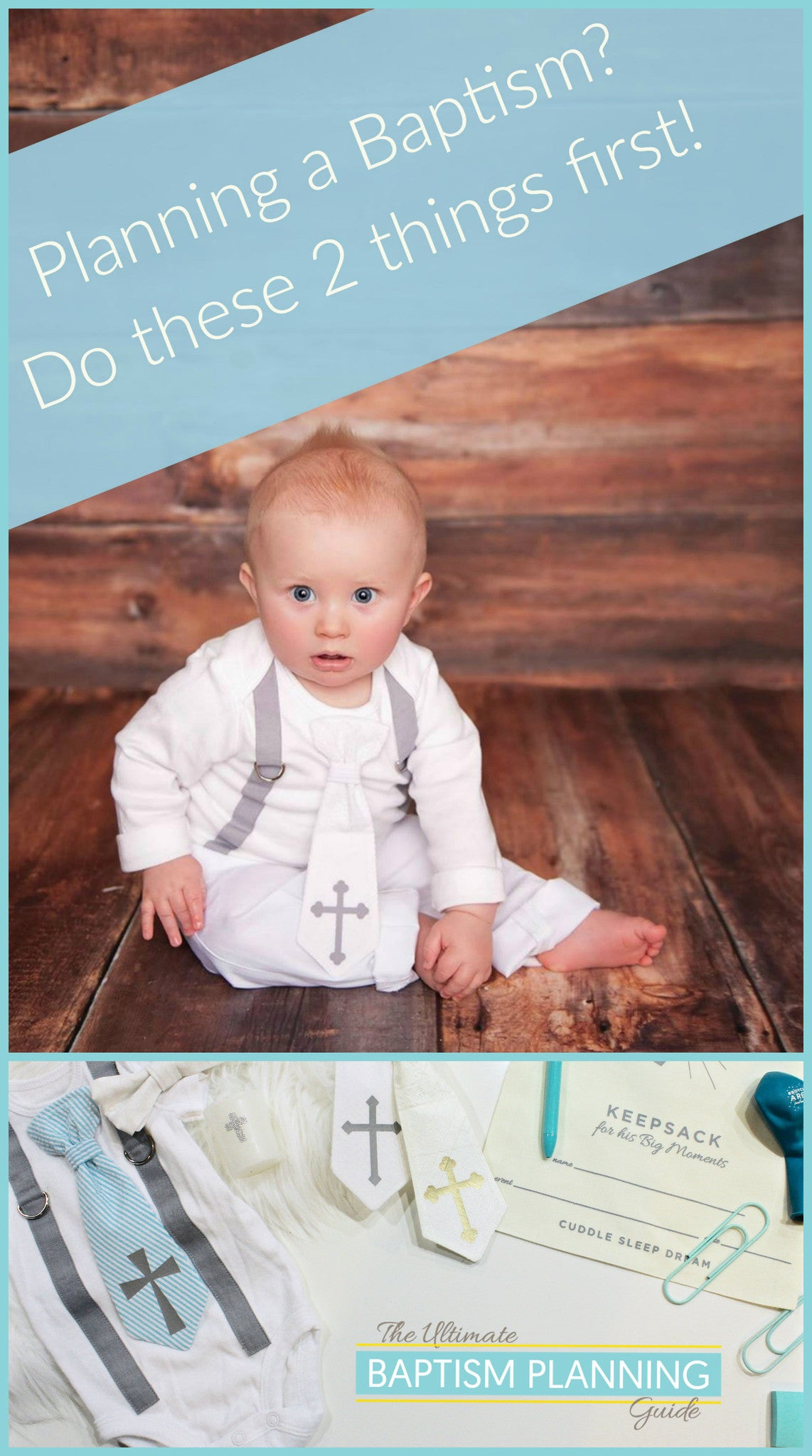 Baptism Planning Guide - how to plan, what to do first