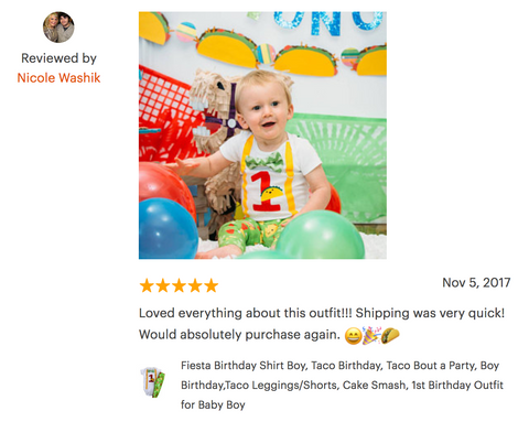 taco 1st birthday cake smash review