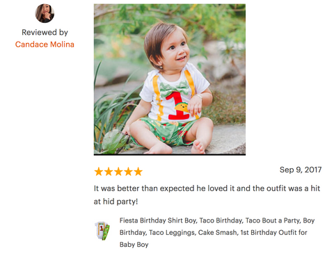 taco birthday outfit review
