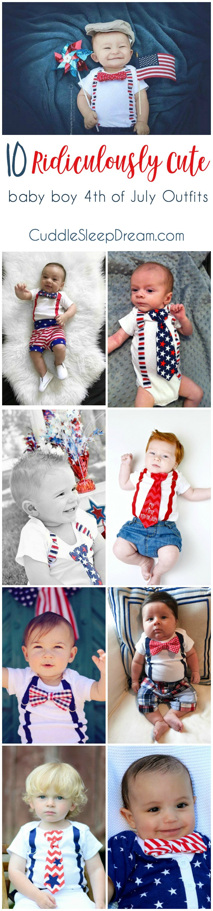 10 Ridiculously Cute Baby Boy 4th Of July Outfits And Babies