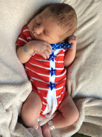 newborn boy 4th of july outfit