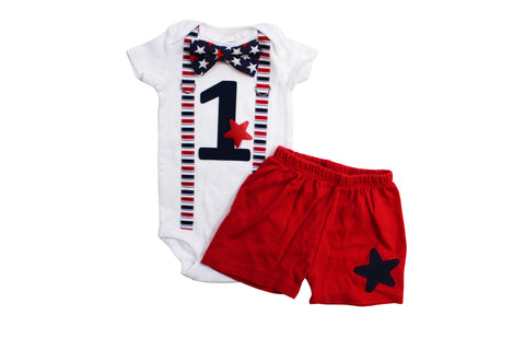 4th of july birthday outfit boy