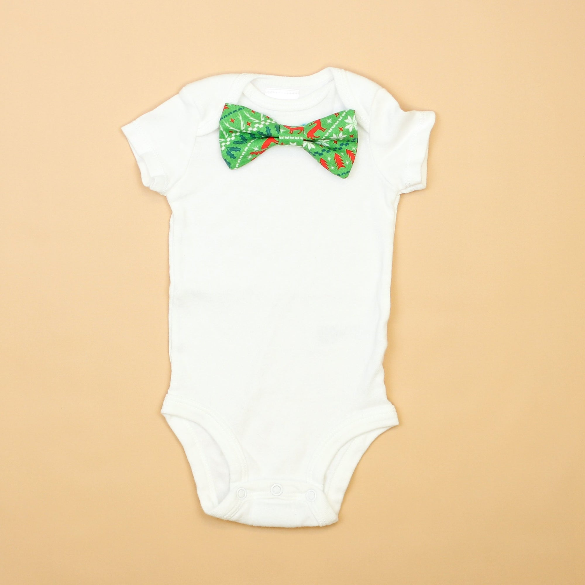 Cuddle Sleep Dream Oh Snap Nordic Bowtie Onesie