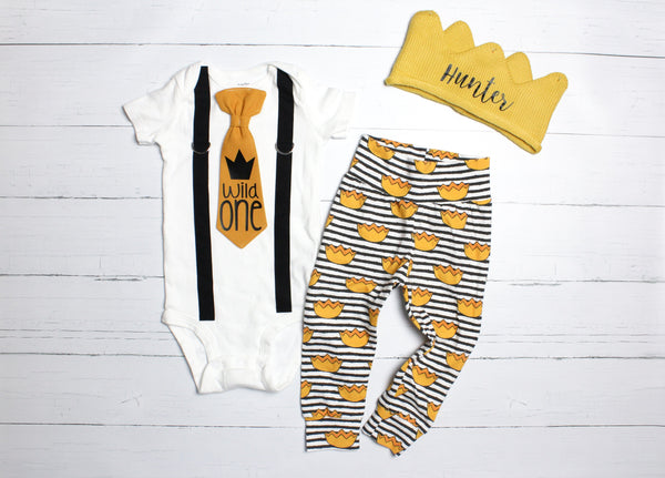 Cuddle Sleep Dream Oh Snap Wild One Birthday Outfit