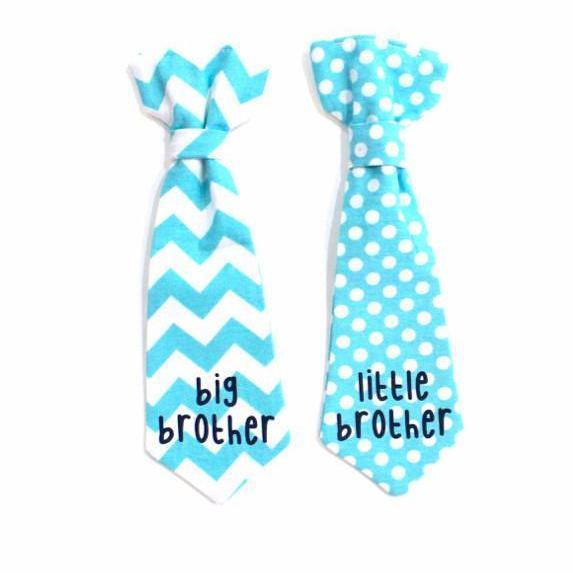 Cuddle Sleep Dream Ties Big Brother/Little Brother Snap-On Tie