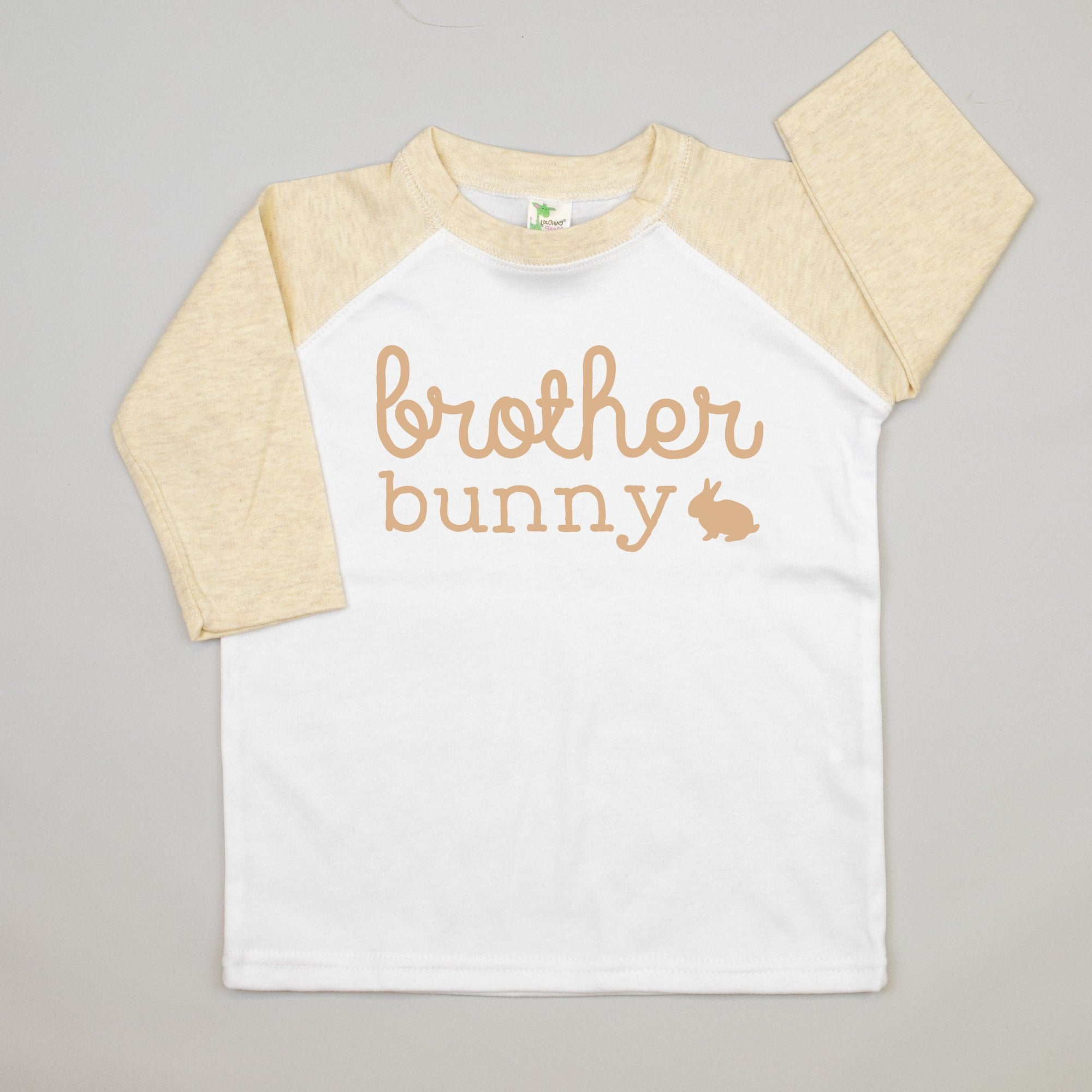 Cuddle Sleep Dream Brother Bunny | Oatmeal Raglan