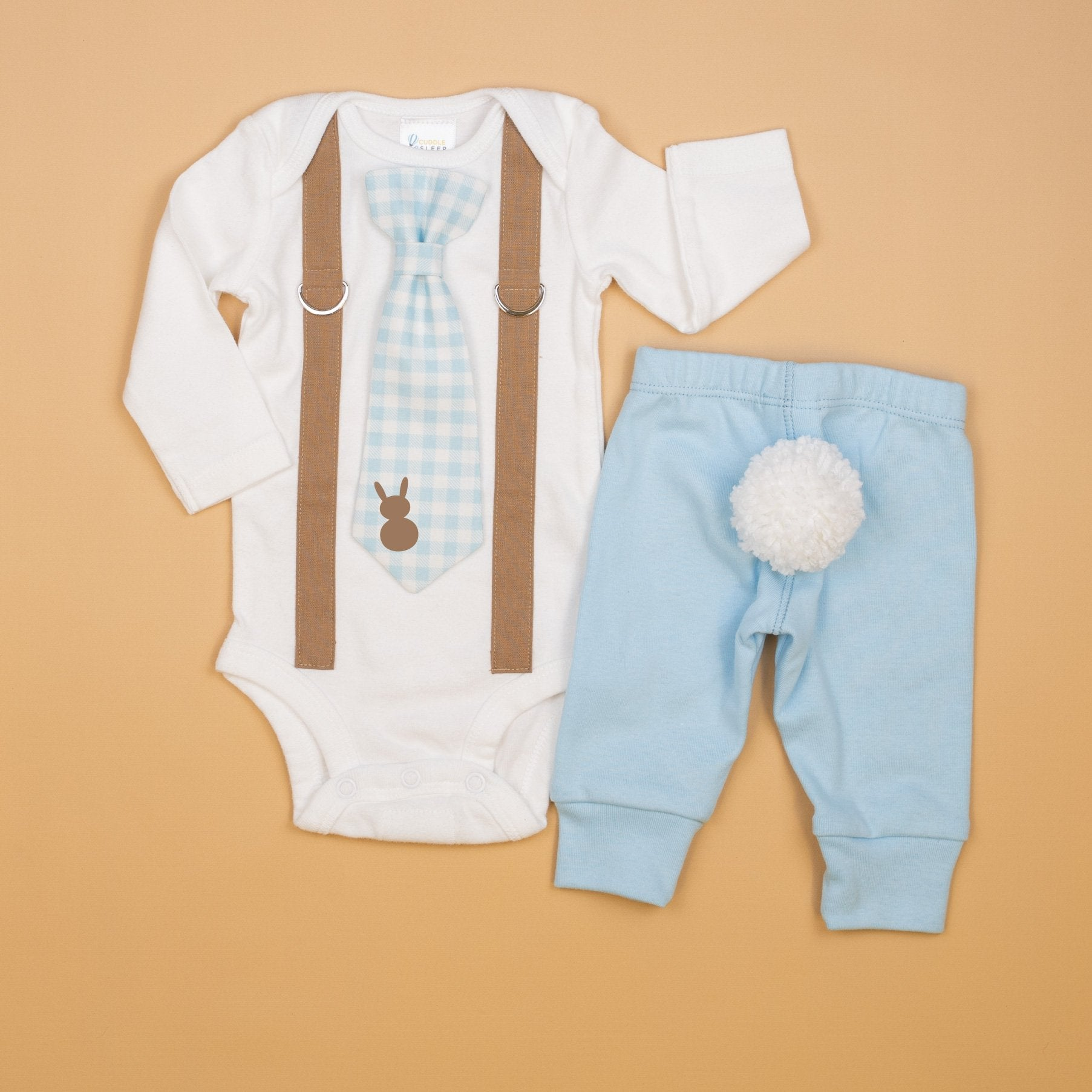 Christmas Holiday Chose Any Tie Baby Boy Blue Seersucker Tie Onesie Bodysuit with Any Personalization Children/'s Fashion. Stripes
