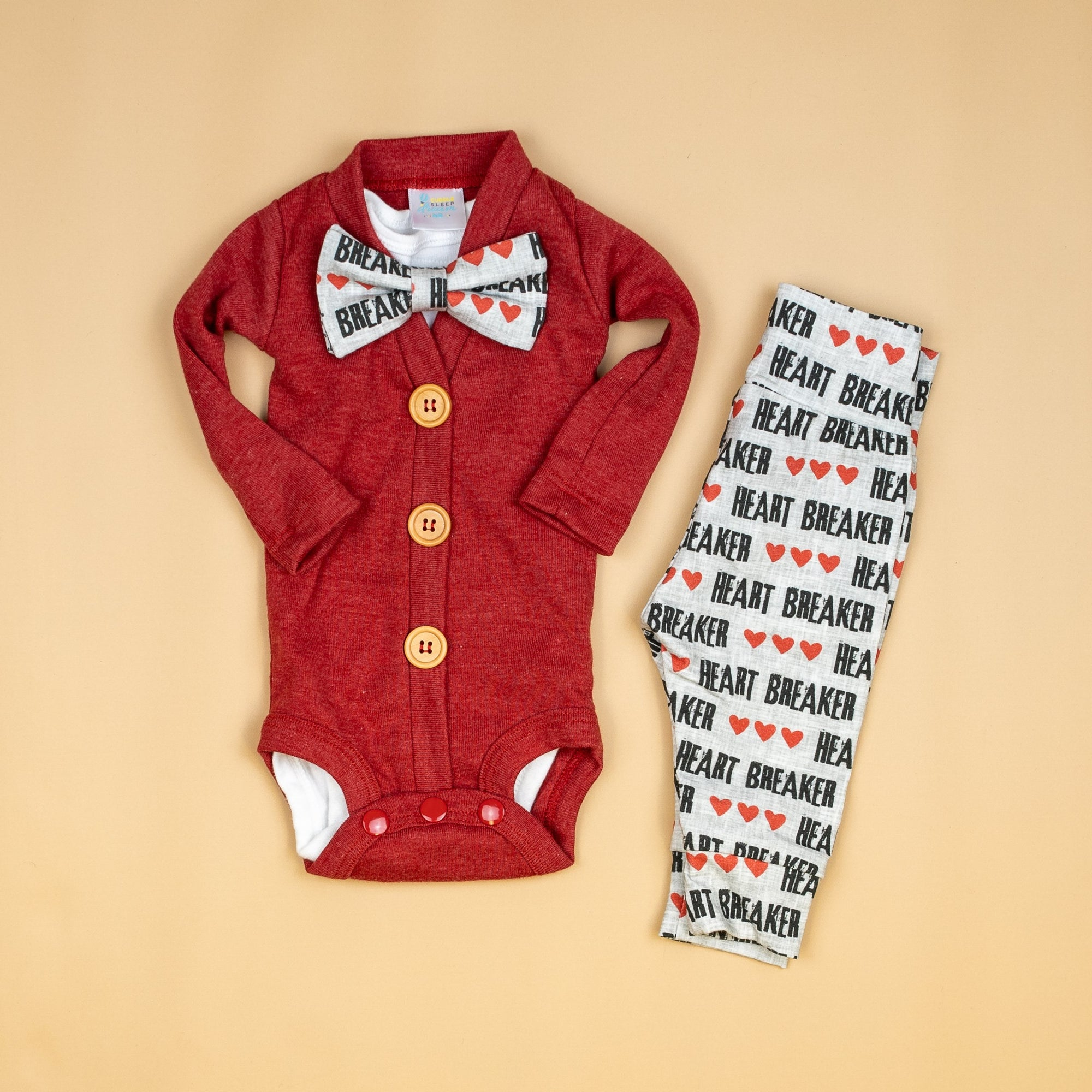 Cuddle Sleep Dream CardiSuit Bundle | Valentine Heartbreaker