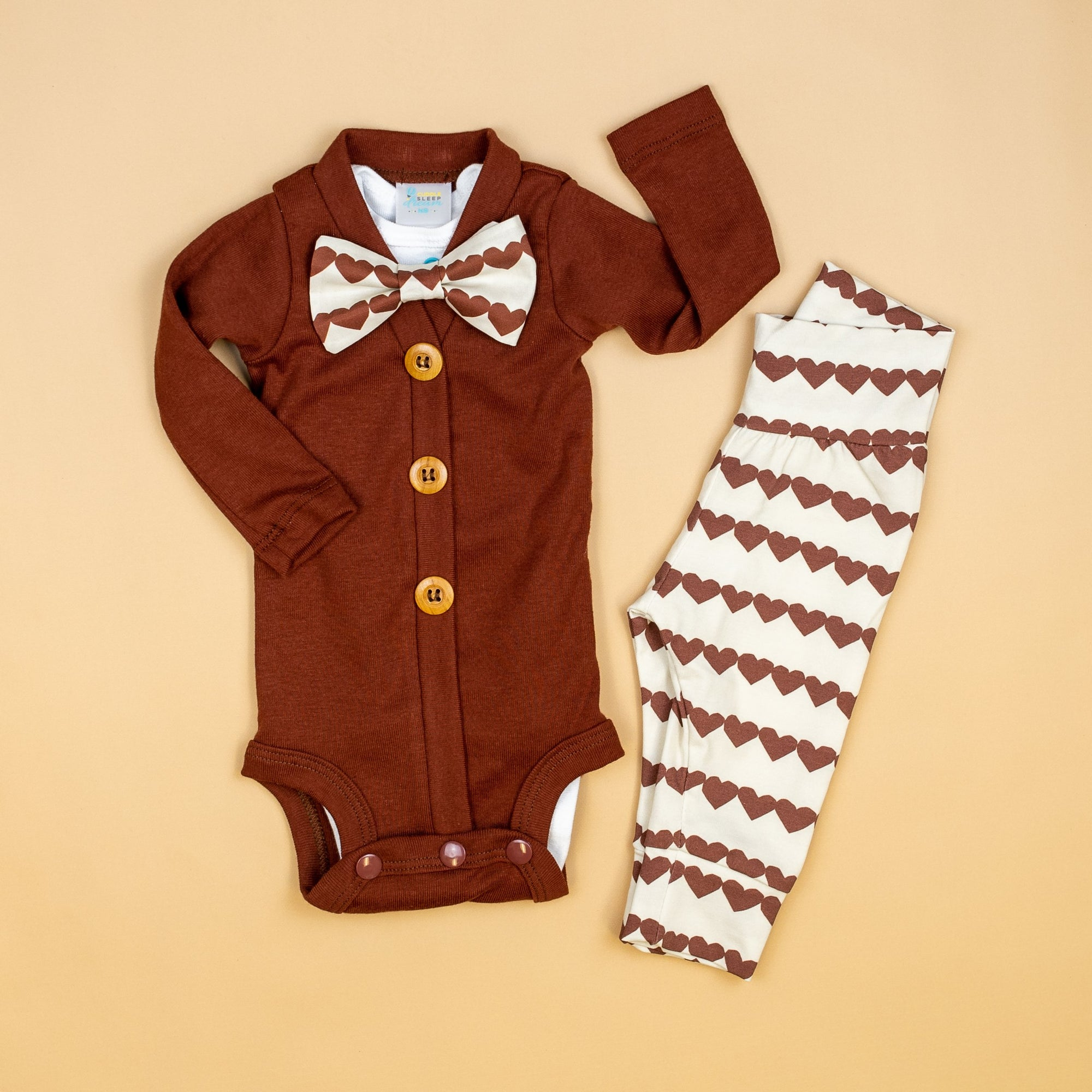 Cuddle Sleep Dream CardiSuit Bundle | Valentine in Rust