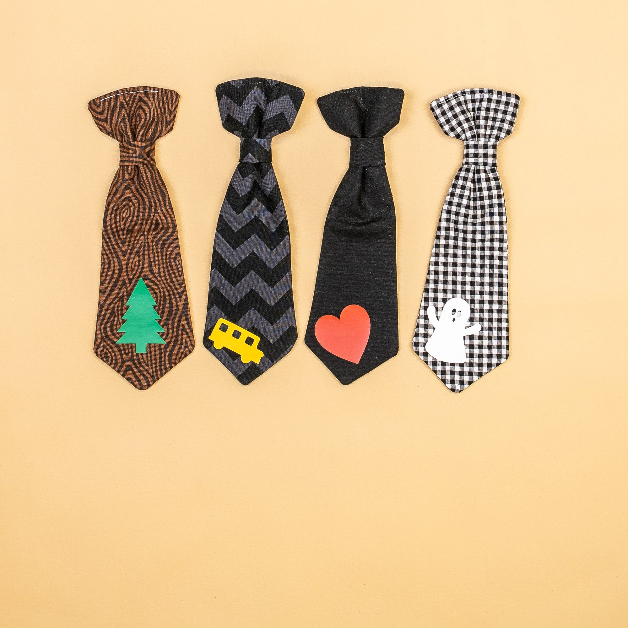 Cuddle Sleep Dream Ties Designed Snap-On Necktie